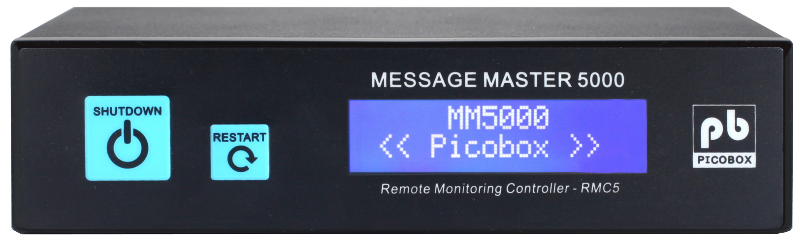 MM5K- picobox modbus snmp, sms, pushover and picobox data cloud